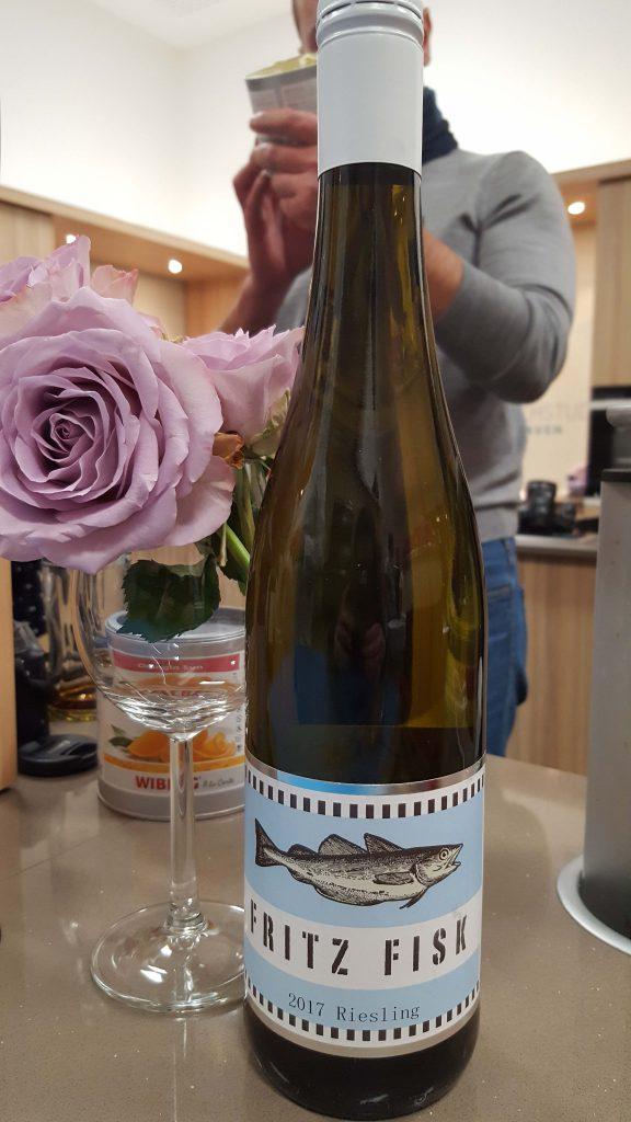 Der Wein des Abends: Fritz Gisk Riesling