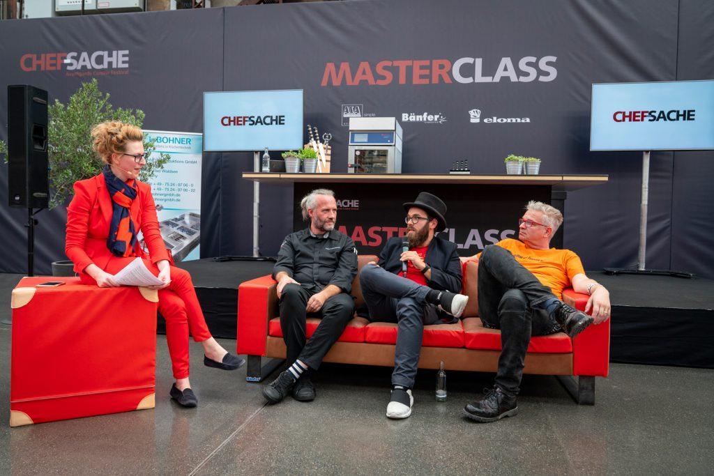 Talkrunde mit Heiko Antoiewicz, Hendrik Haase - Chef-Sache 2018