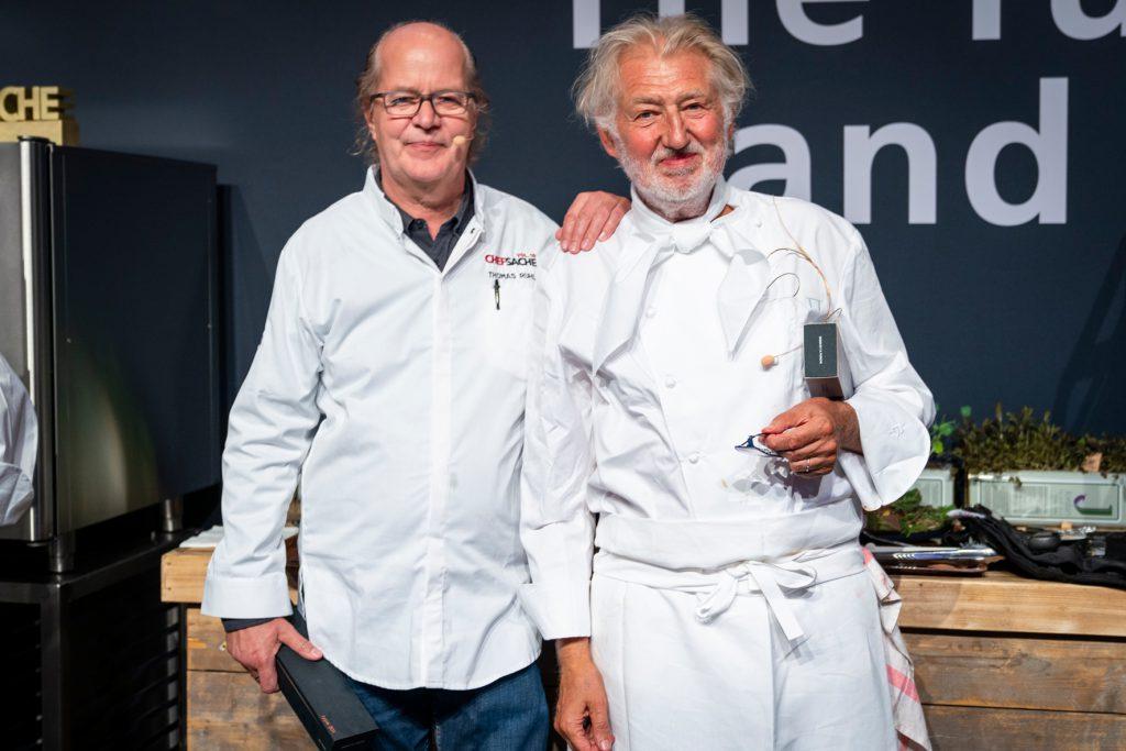 Thomas Ruhl mit Pierre Gagnaire - Chef-Sache 2018