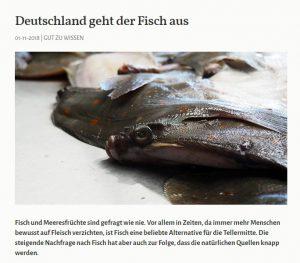 Deutschland geht der Fisch aus - Greentable Magazin
