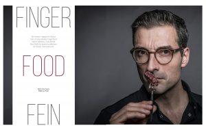 Fingerfood mit Hubertus Tzschirner im Fachmagazin Küche