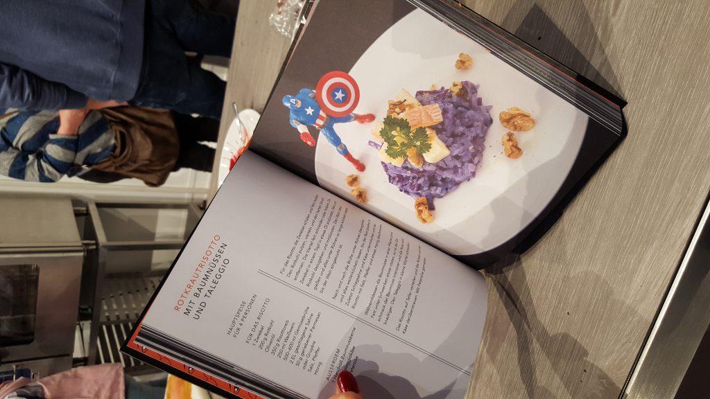 Blick ins neue Kochbuch von Meta Hiltebrand
