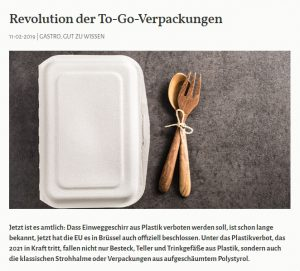 Revolution der To-Go-Verpackungen - Greentable Magazin