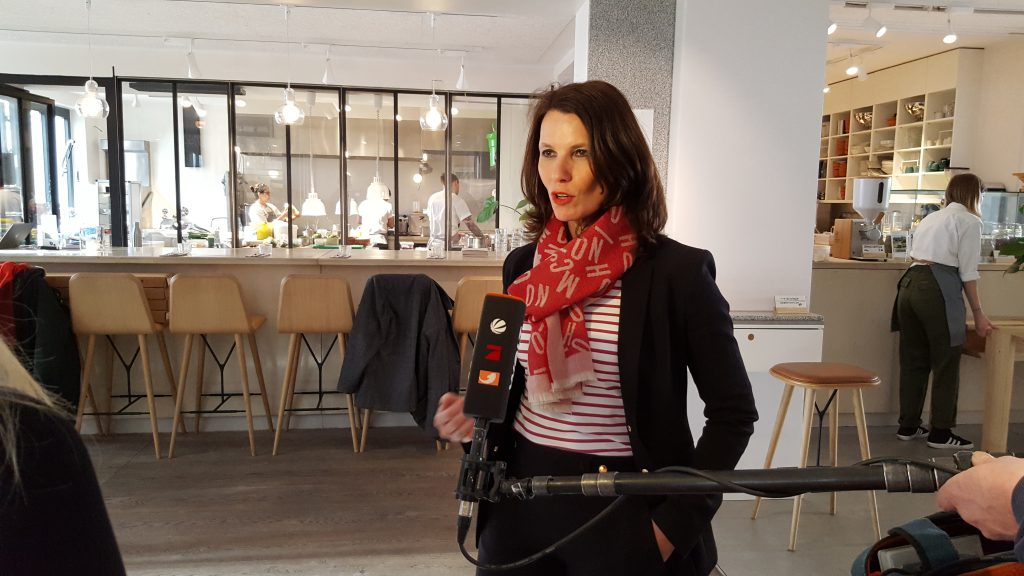 Rita Schwarzelühr-Sutter vom Bundesministerium im Interview