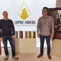 Für beeindruckende Show-Effekte sorgte Lupus Aureus Mannheimer Möbelschmiede.