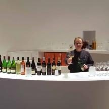Die Weinhandlung Vero Vinum servierte edle Tropfe in feinem Leonardo-Glas.