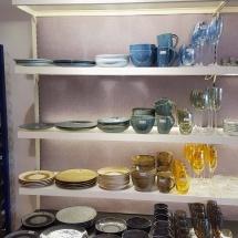 Passende farbige Gläser zur neuen Geschirrserie Materra