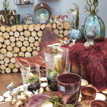Natürliche Elemente, Glas und Keramik - so schön wird der Herbst!