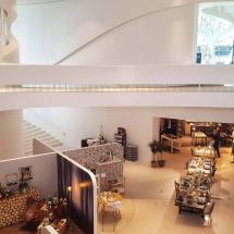 Die Designer von Leonardo richteten Hubs zu verschiedenen thematischen Schwerpunkten ein.
