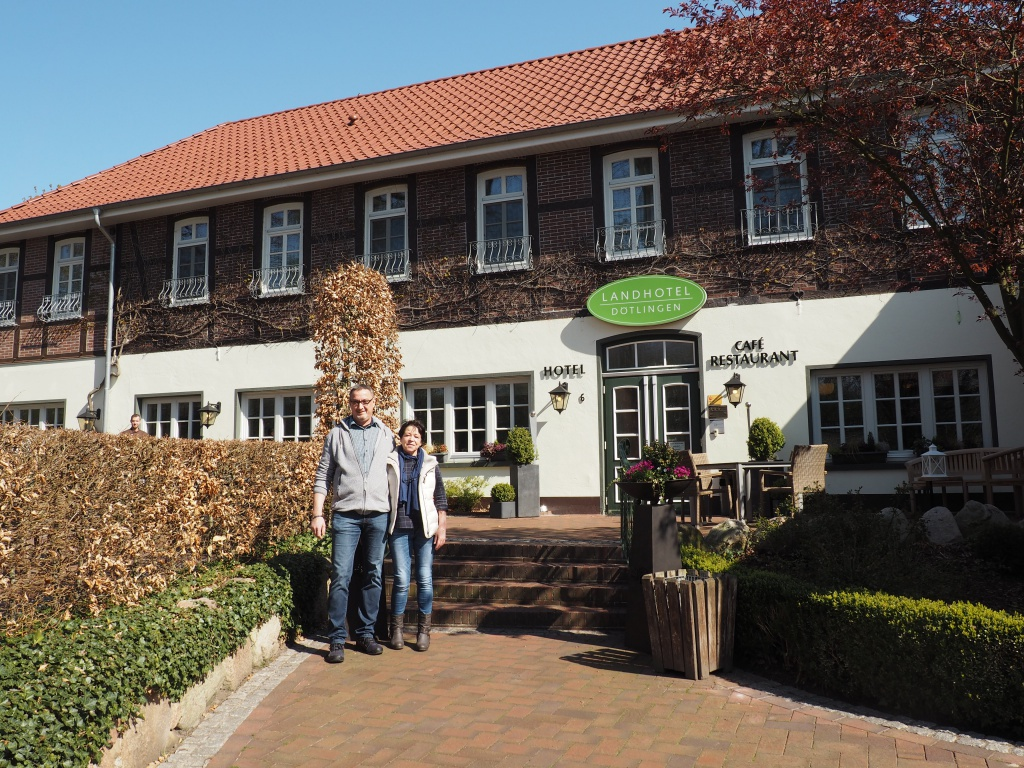 Thomas und Petra Büning vom Landhotel Dötlingen