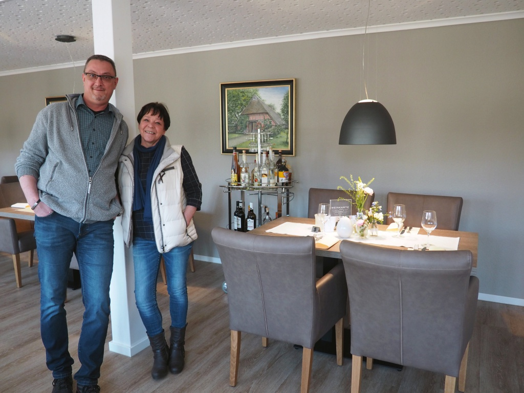 Thomas und Petra Büning im Gastraum