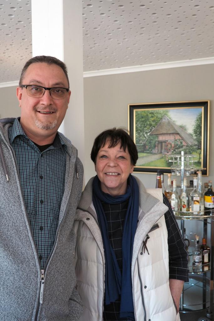 Thomas und Petra Büning, seit März 2016 Betreiber des Landhotels Dötlingen