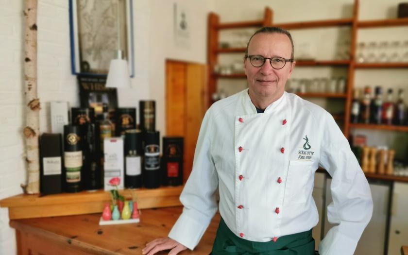 Jörg Stein vom Restaurant Schalotte in Huntlosen