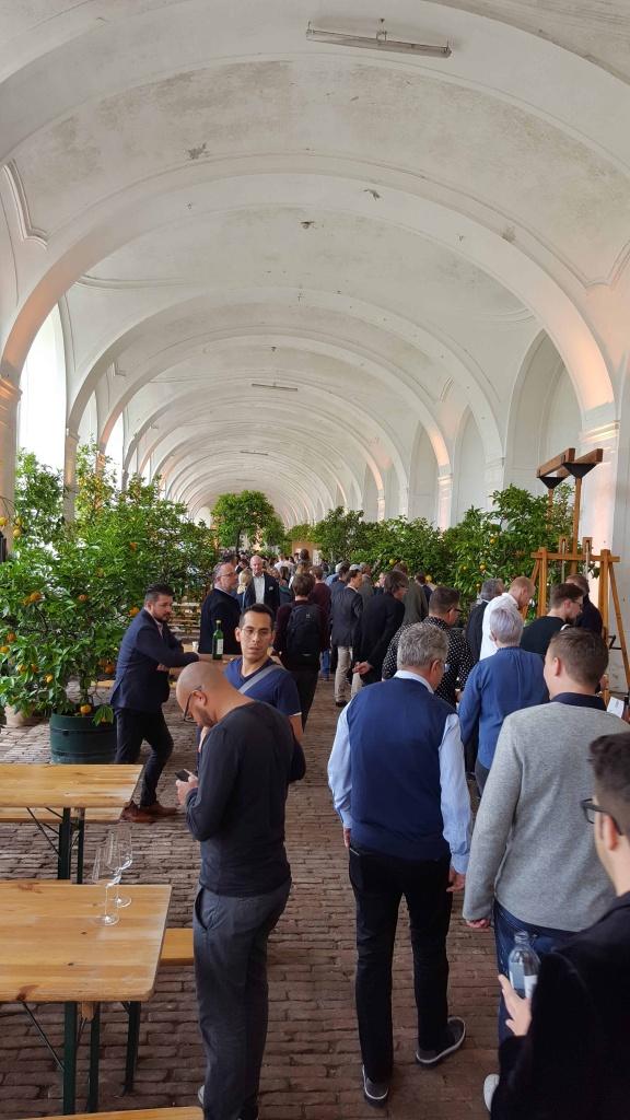 foodlab gastiert in der Orangerie in Schloss Schönbrunn