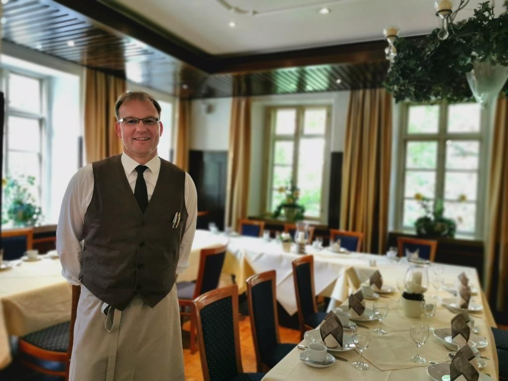 Geborener Gastgeber: Jens Burgdorf