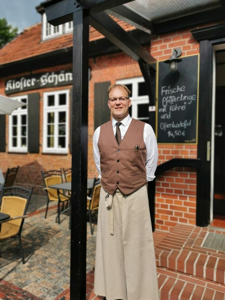 Jens Burgdorf von der Klosterschänke
