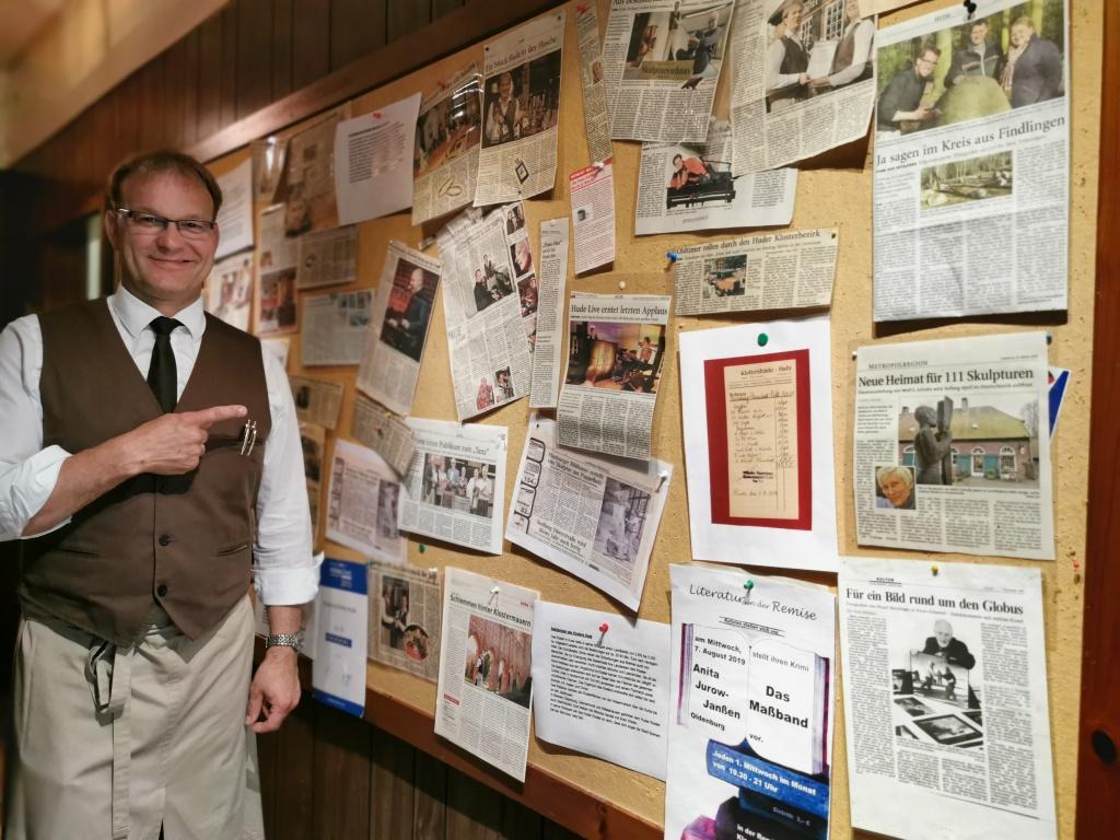 Klosterschänke in der Regionalpresse