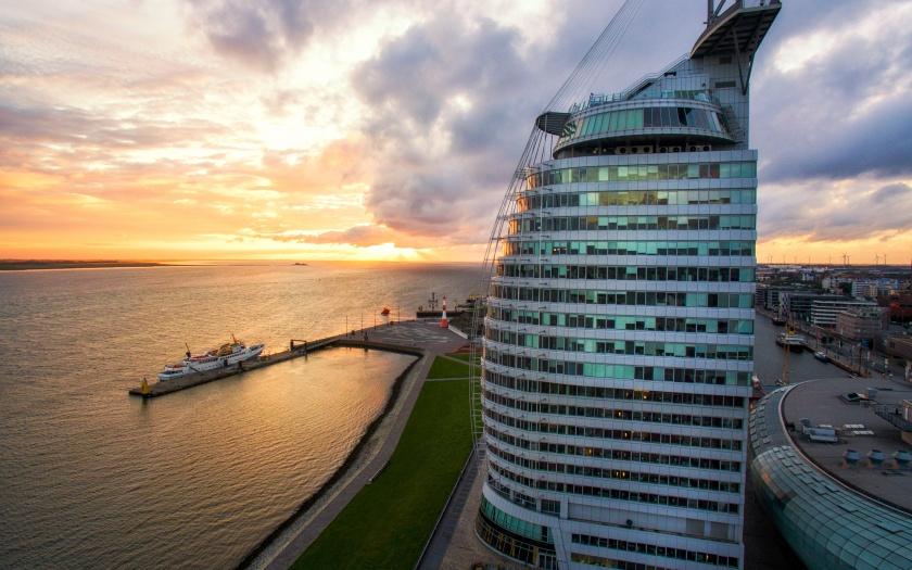 Außenansicht Atlantic Hotel Sail City