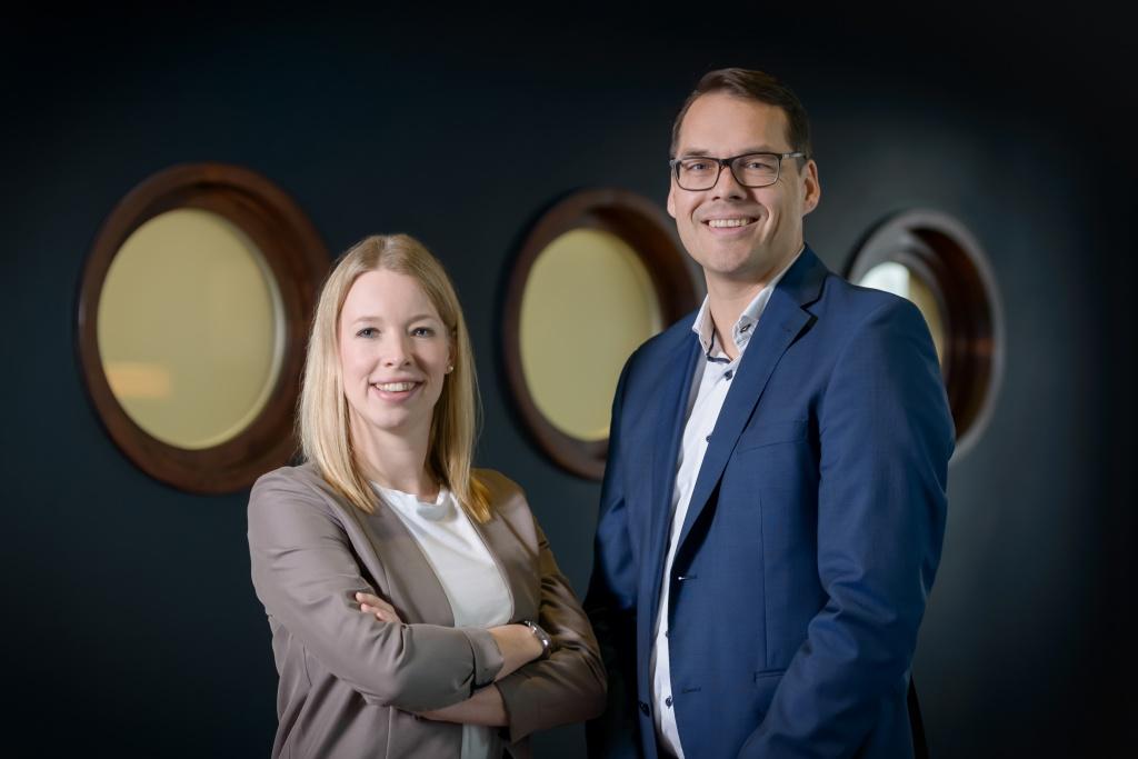 Sandra Tscharntke und Tim Oberdieck