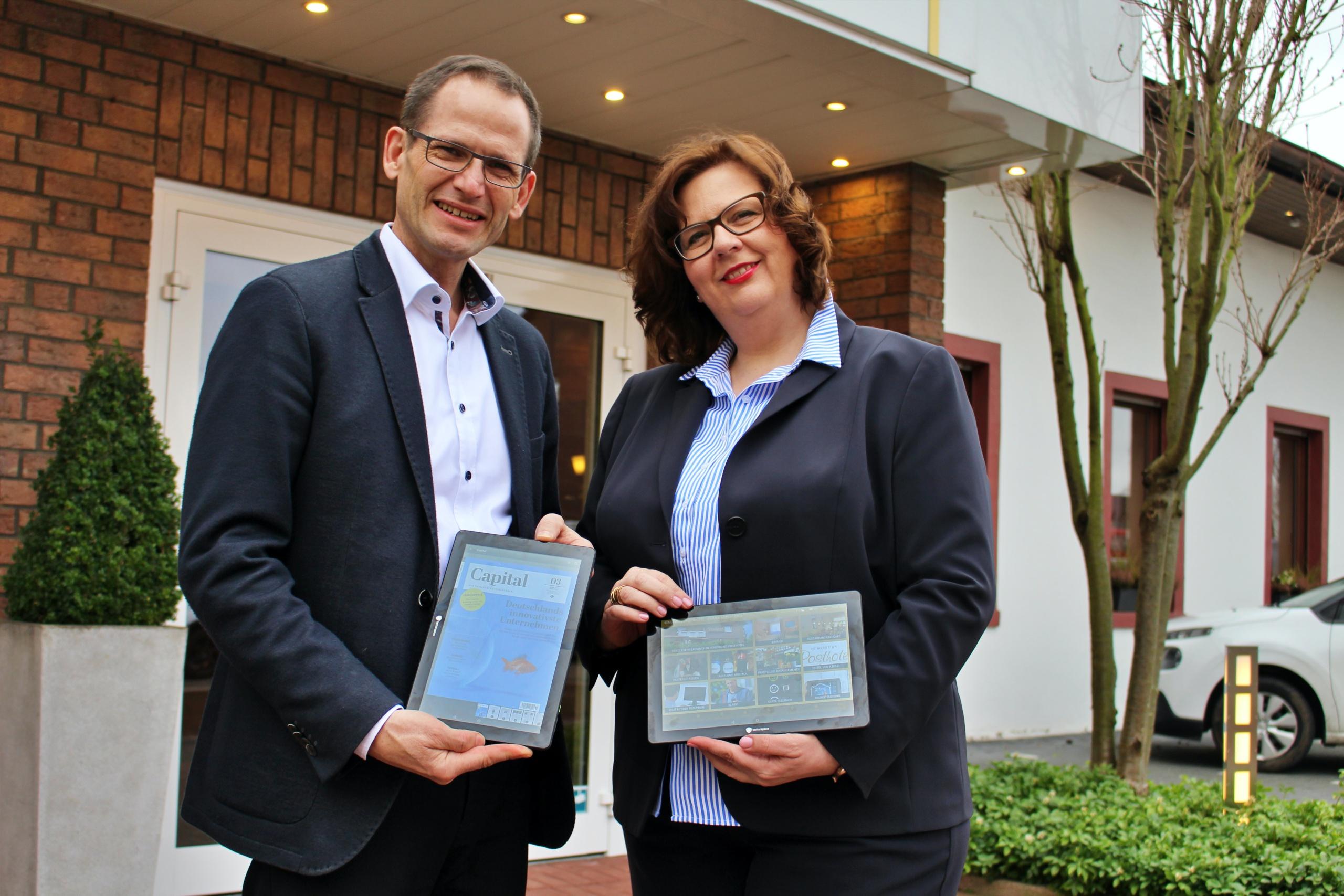 Carsten Hünerbein setzt auf Digitalisierung in allen Hotelbereichen des Posthotels Hünerbein