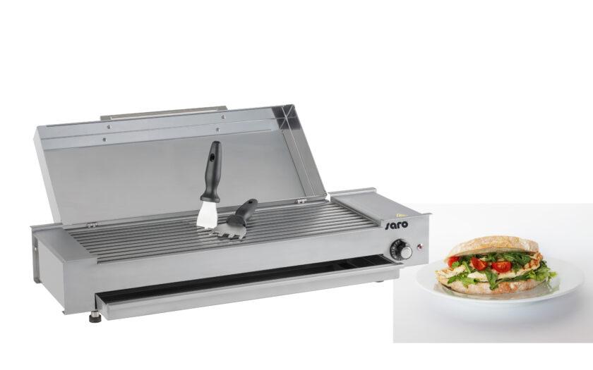 Mini Wow-Grill mit Sandwich von Saro
