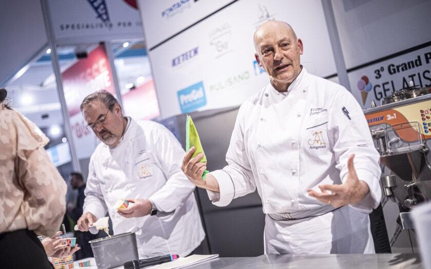 Eismeister kommen zur Eisfachmesse nach Stuttgart